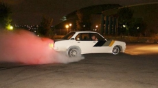 Opel Kadett Burn Out