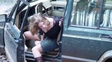 Car Stuck Girls (12)