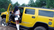 Car Stuck Girls (11)